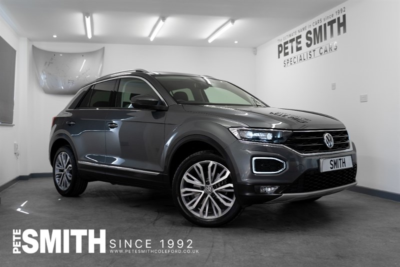 used VW T-Roc 2.0 TSI SEL 4MOTION DSG 5 DOOR ONE OWNER 2018/18 in forest-of-dean-gloucestershire