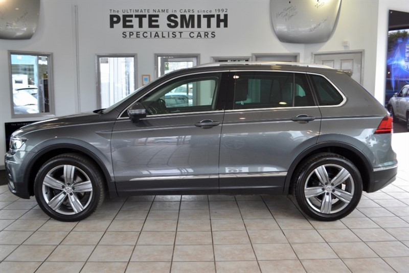 used VW Tiguan 2.0 SEL TDI BMT 4MOTION DSG ONLY 23000 MILES VIRTUAL COCKPIT 2017/17 in forest-of-dean-gloucestershire