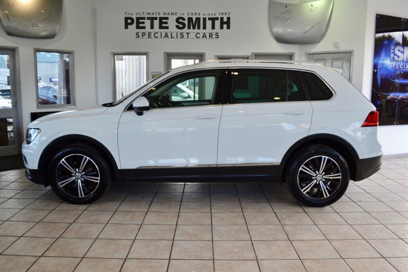 used VW Tiguan 2.0 SE TDI BMT 5 DOOR ONE OWNER ONLY 31000 MILES 2016/66 in forest-of-dean-gloucestershire