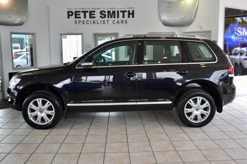 used VW Touareg 3.0 V6 TDi  SE WITH NAVIGATION 2007/07 in forest-of-dean-gloucestershire