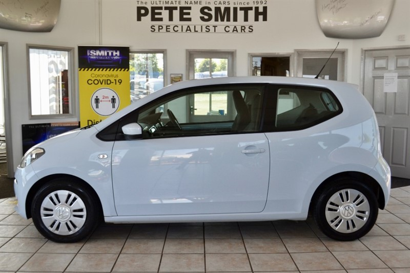 used VW Up 1.0 MOVE UP BLUEMOTION TECHNOLOGY ZER0 ROAD TAX TO PAY 2013/13 in forest-of-dean-gloucestershire
