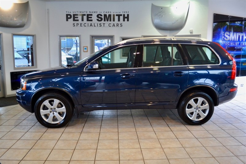 used Volvo XC90 2.4 D5 SE AWD 5 DOOR ONE OWNER FROM NEW WITH  FULL VOLVO SERVICE HISTORY7 SEATS FULL LEATHER 2013/13 in forest-of-dean-gloucestershire