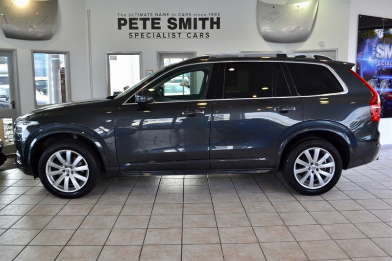 used Volvo XC90 2.0 D5 MOMENTUM AWD AUTO 7 SEATS FULL VOLVO SERVICE HISTORY 2015/15 in forest-of-dean-gloucestershire