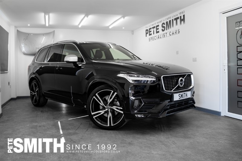 used Volvo XC90 2.0 D5 POWERPULSE R-DESIGN PRO AWD 7 SEATS JUST 22000 MILES JUST ARRIVED 2018/67 in forest-of-dean-gloucestershire