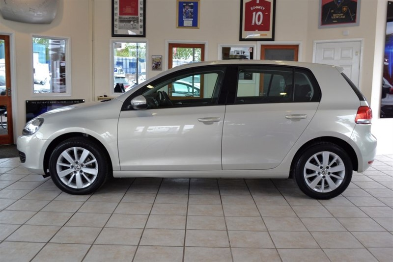 used VW Golf MATCH 1.6 TDI ONLY 32000 MILES AND £30 ROAD TAX in forest-of-dean-gloucestershire