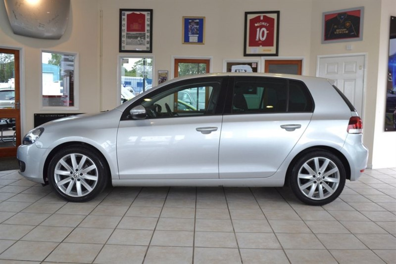 used VW Golf 2.0 GT TDI 140 COMPLETE WITH FULL VW SERVICE HISTORY in forest-of-dean-gloucestershire