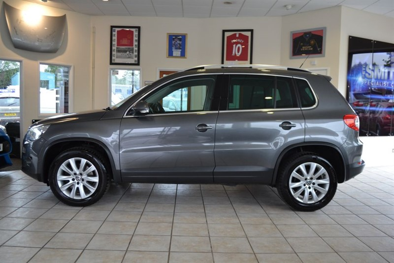 used VW Tiguan MATCH TDI 4MOTION in forest-of-dean-gloucestershire