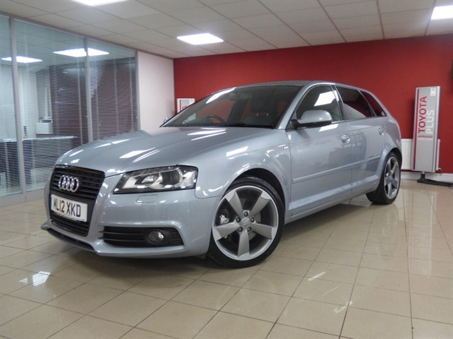 used Audi A3 SPORTBACK TDI S LINE SPECIAL EDITION in aberdare