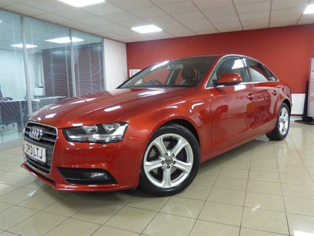 used Audi A4 TDI SE TECHNIK in aberdare