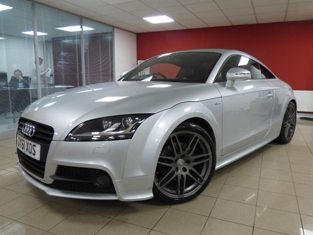 used Audi TT TDI QUATTRO S LINE BLACK EDITION in aberdare