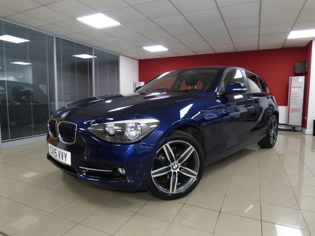 used BMW 116i SPORT in aberdare