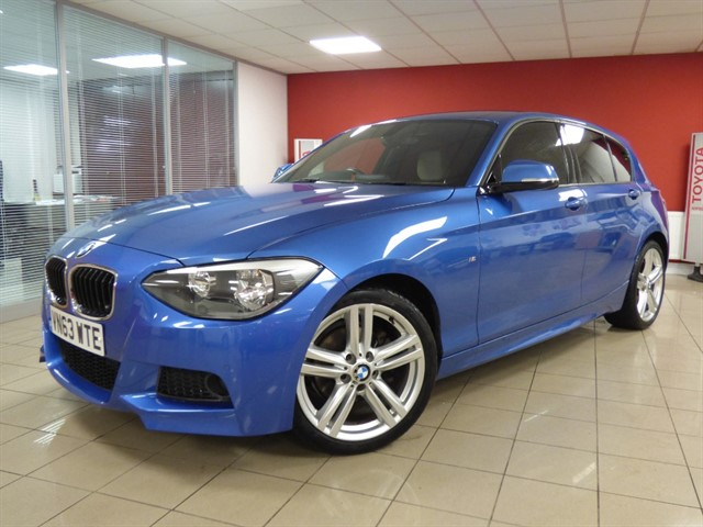 used BMW 120d M SPORT in aberdare