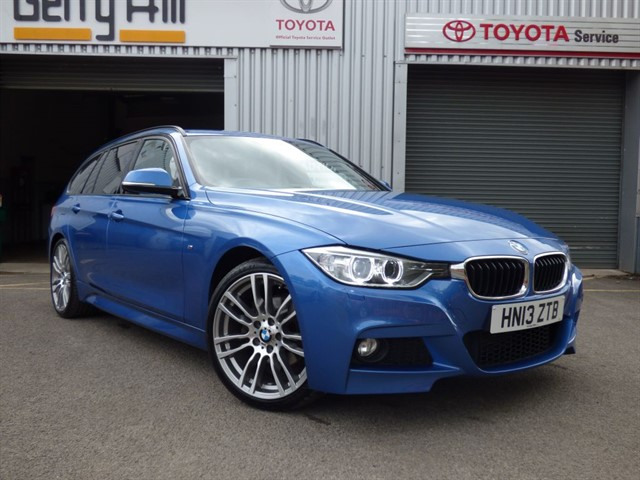used BMW 320d M Sport Touring in aberdare