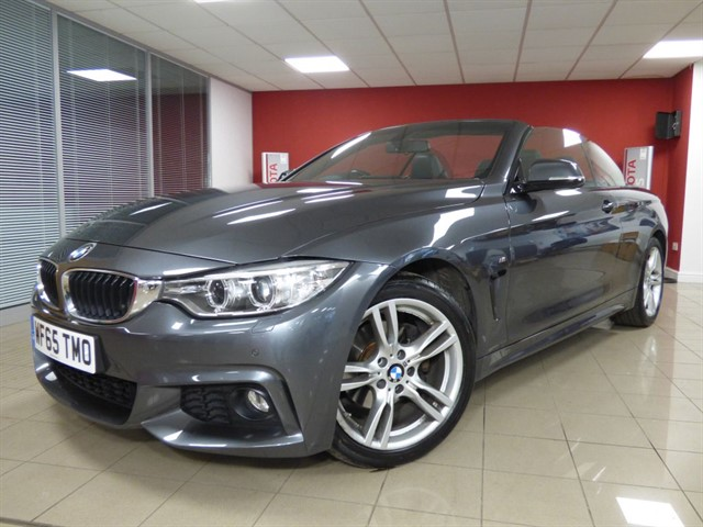 used BMW 420d M Sport in aberdare