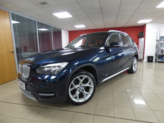 used BMW X1 XDRIVE18D XLINE in aberdare