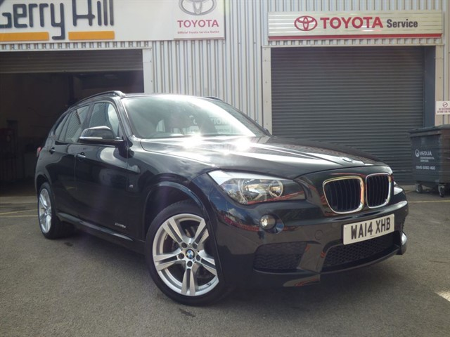 used BMW X1 SDrive18D M Sport in aberdare