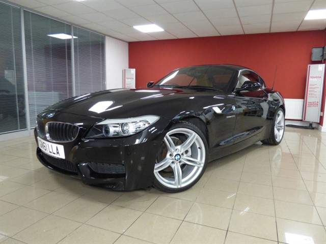 used BMW Z4 23i SDRIVE M SPORT ROADSTER in aberdare