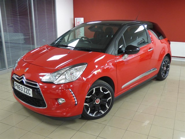 used Citroen DS3 DSTYLE PLUS in aberdare