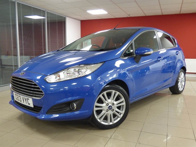 used Ford Fiesta ZETEC in aberdare