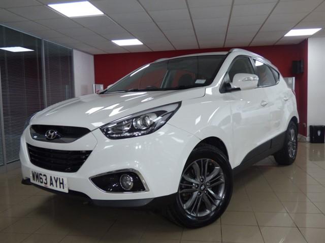 used Hyundai ix35 CRDI SE NAV in aberdare