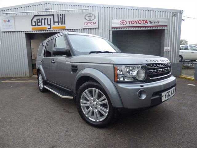 used Land Rover Discovery 4 SDV6 XS in aberdare