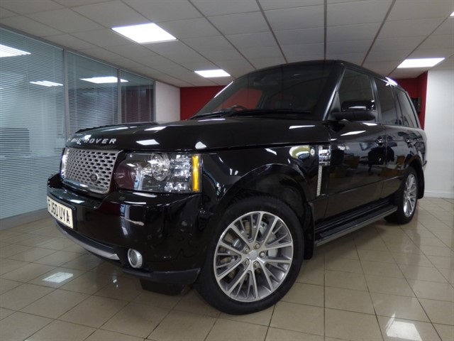 used Land Rover Range Rover TDV8 AUTOBIOGRAPHY BLACK in aberdare