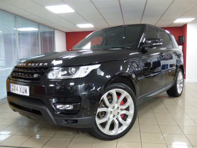 used Land Rover Range Rover Sport SDV6 HSE DYNAMIC in aberdare