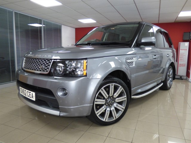 used Land Rover Range Rover Sport SDV6 AUTOBIOGRAPHY SPORT in aberdare