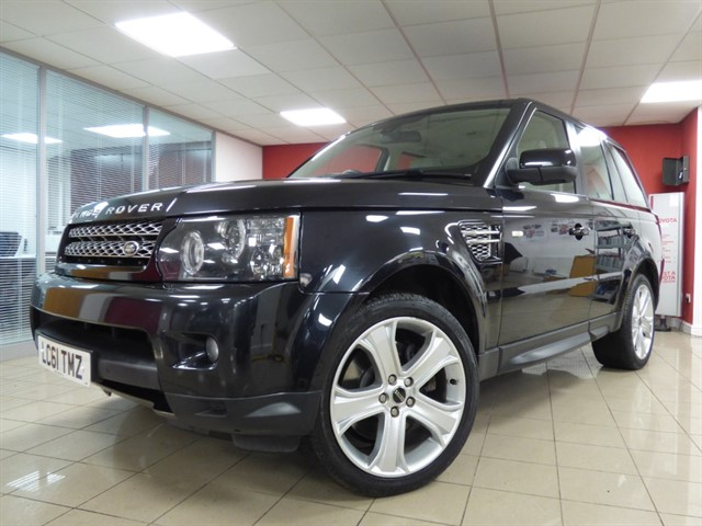 used Land Rover Range Rover Sport SDV6 HSE LUXURY in aberdare