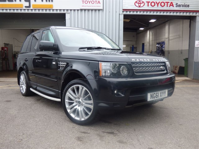 used Land Rover Range Rover Sport SDV6 HSE in aberdare