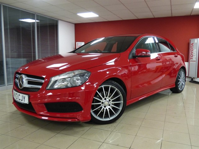 used Mercedes A180 CDI BLUEEFFICIENCY AMG SPORT in aberdare