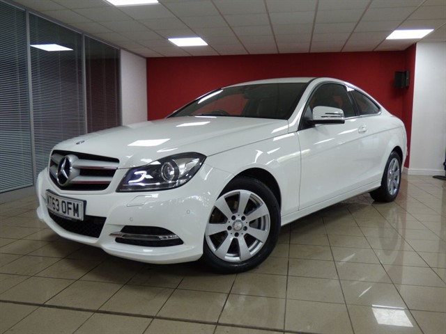used Mercedes C220 CDI Blue Efficiency Executive SE in aberdare