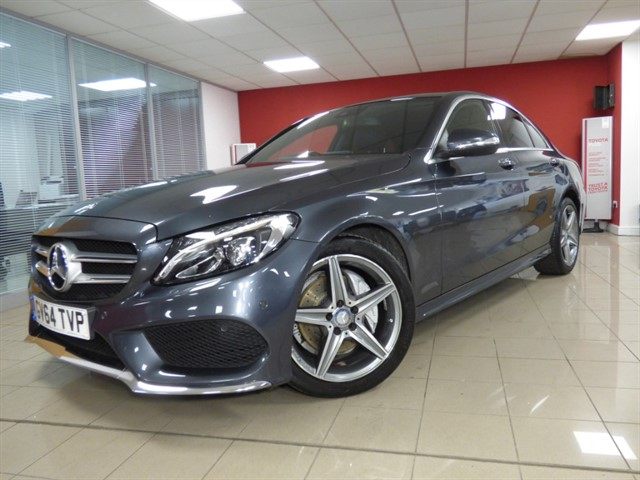 used Mercedes C220 BLUETEC AMG LINE PREMIUM PLUS in aberdare