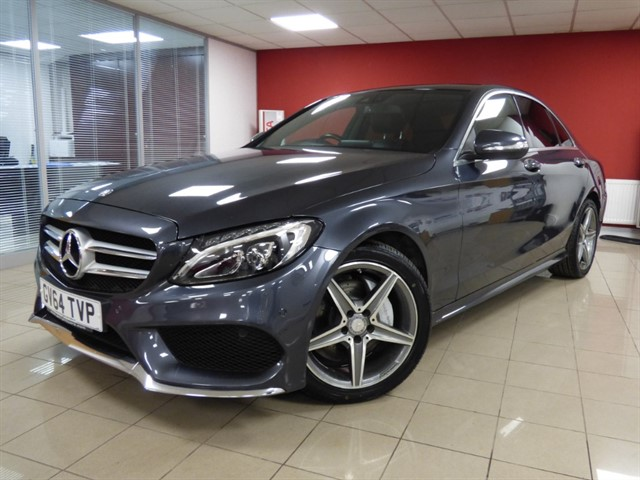 used Mercedes C220 BLUETEC AMG LINE PREMIUM PLUS in aberdare
