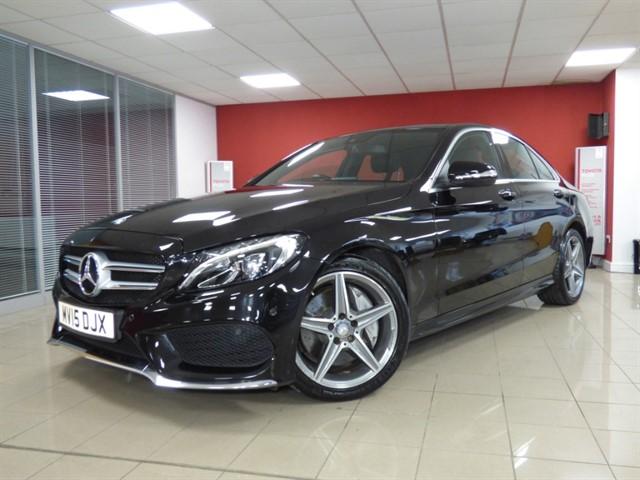 used Mercedes C250 BLUETEC AMG LINE PREMIUM PLUS in aberdare