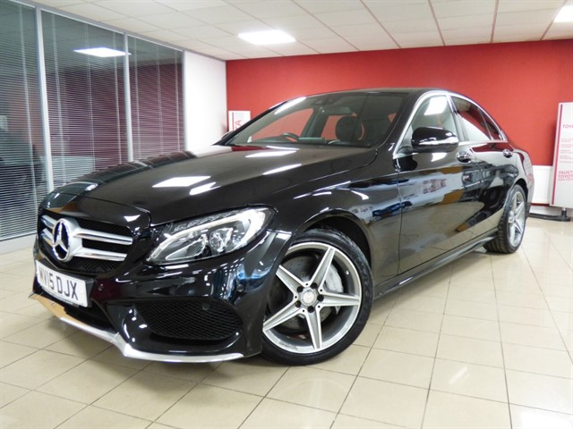 used Mercedes C250 BLUETEC AMG LINE PREMIUM PLUS in aberdare