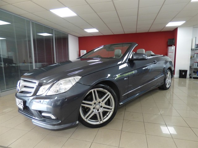 used Mercedes E350 CDI BLUEEFFICIENCY SPORT in aberdare