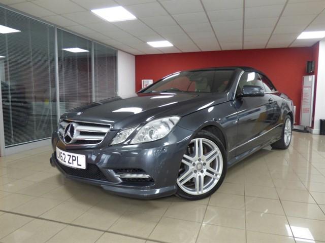 used Mercedes E350 CDI BLUEEFFICIENCY SPORT in aberdare