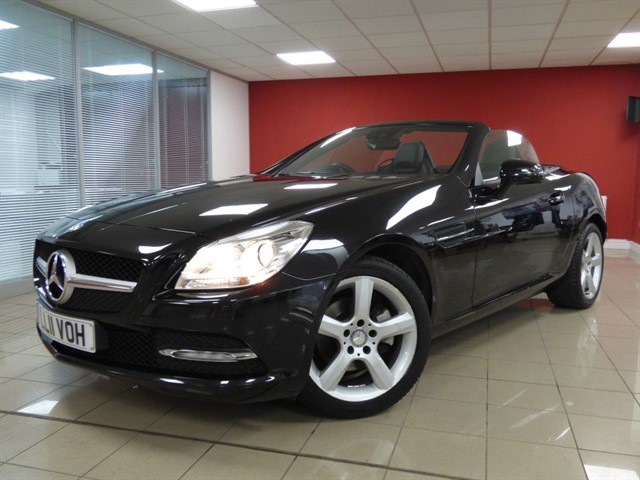 used Mercedes SLK SLK200 BlueEfficency in aberdare
