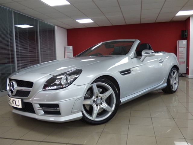 used Mercedes  SLK250 CDI BLUEEFFICIENCY AMG SPORT in aberdare
