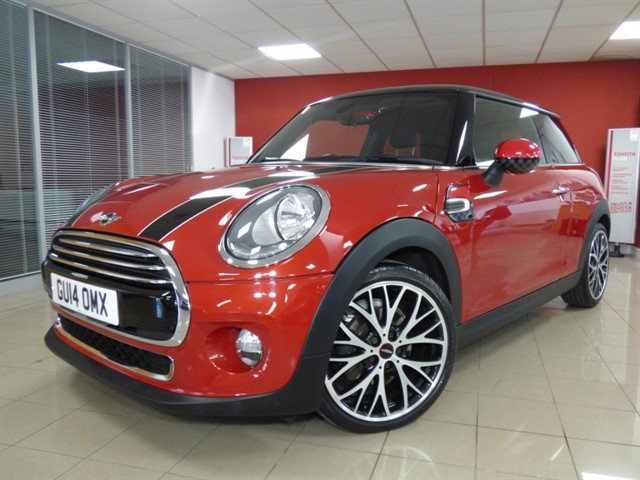 used MINI Cooper COOPER D in aberdare