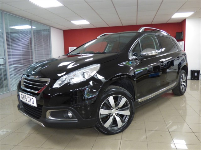 used Peugeot 2008 E-HDI ALLURE in aberdare
