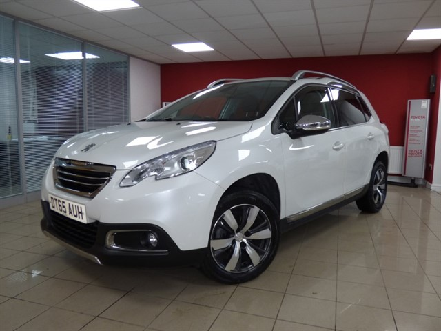 used Peugeot 2008 BLUE HDI ALLURE in aberdare