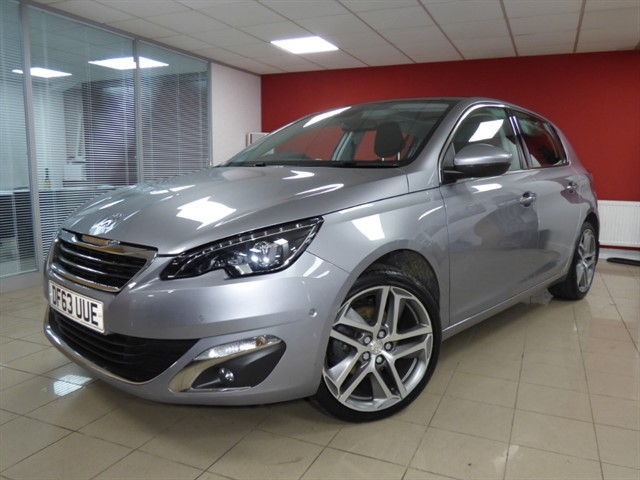 used Peugeot 308 THP ALLURE in aberdare