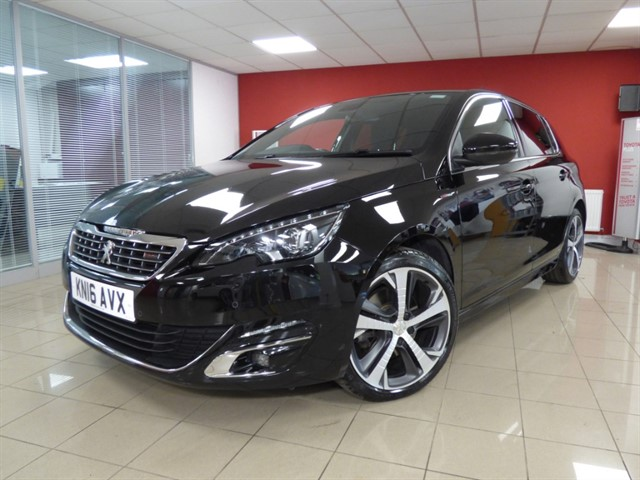 used Peugeot 308 BLUE HDI S/S GT LINE in aberdare