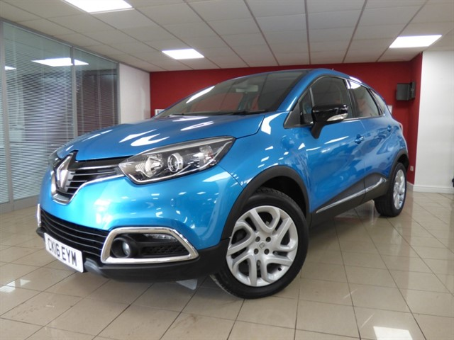 used Renault Captur DYNAMIQUE NAV DCI in aberdare