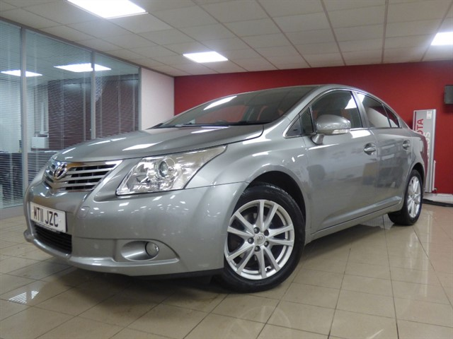 used Toyota Avensis D-4D TR in aberdare