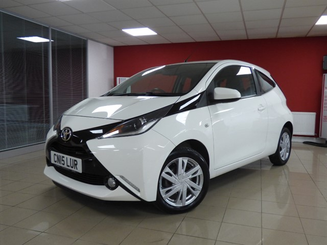 used Toyota Aygo VVT-I X-PRESSION in aberdare
