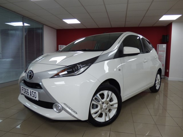 used Toyota Aygo VVT-I X-PURE in aberdare