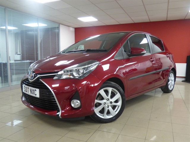 used Toyota Yaris VVT-I EXCEL M-DRIVE S in aberdare